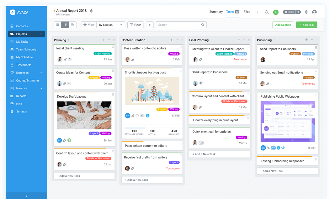 Avaza - Project Management, Timesheets & Invoices for Teams